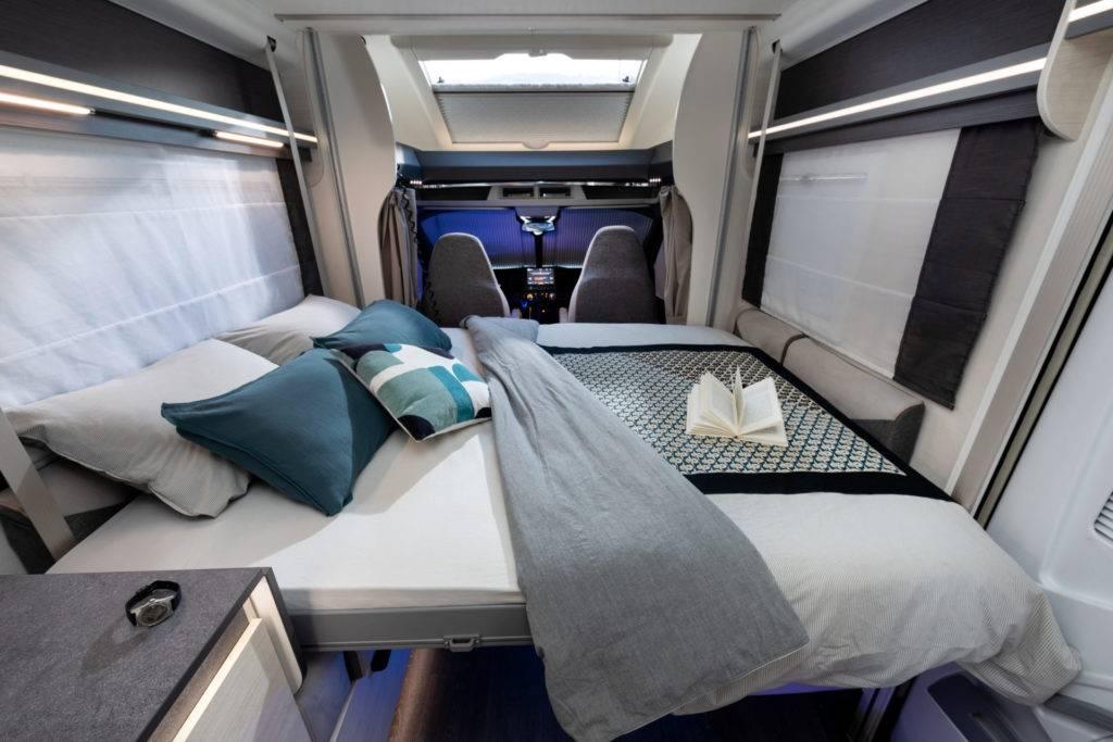 Lit pavillon camping-car